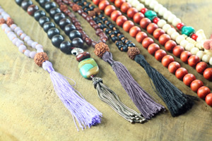 Mala and Prayer Bead Design, Construction and Repair Workshop