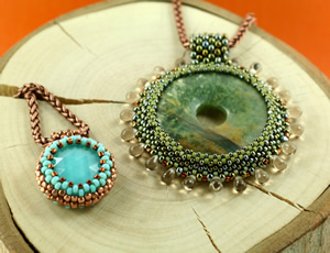 Peyote Beaded Bezel Workshop
